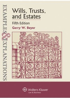 E & E Wills, Trusts, and Estates 5th edition cover